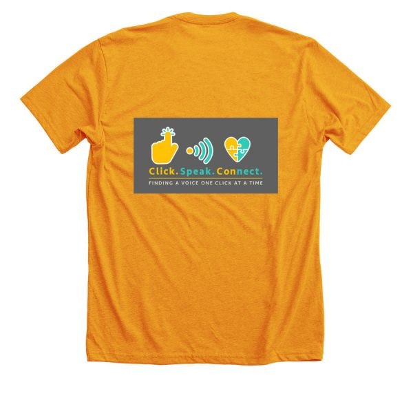 gold I have a voice tshirt-front