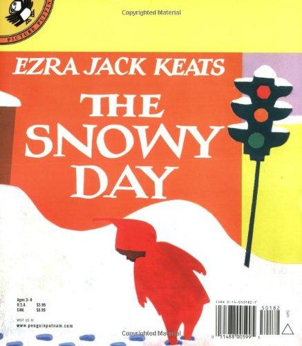 The Snowy Day by Ezra Jack Keats book back